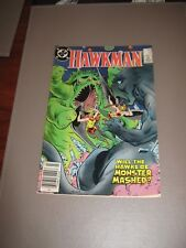 DC  Comics Hawkman 12 july 1987 very good condition