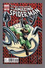 The Amazing Spider-Man #700 Signed Dan Slott W/COA (February 2013, Marvel)