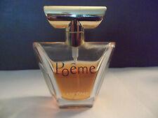 POEME by LANCOME EAU DE PARFUM 50 ml 1.7 oz 60% FULL RARE FOR WOMAN FRAGRANCE