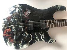 Peavey Predator Electric Guitar Signed by Stan Lee Thor Design Marvel