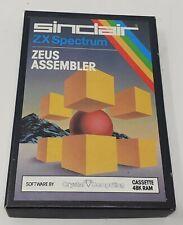 Sinclair ZX Spectrum Zeus Assembler