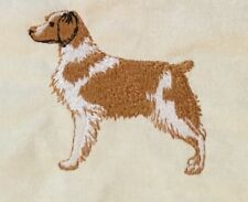 Brittany Spaniel, Two Hand Towels, Embroidered, Custom, Personalized, Dog
