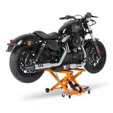 Motorrad Hebebühne Scherenheber Hydraulik-Lift ConStands XL orange Ständer