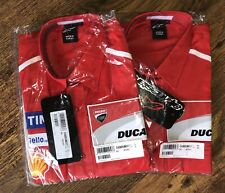 Alpinestars 2017 Ducati MotoGP Team Issue Crew de Superdry. Nueva. gran