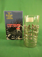 Disney Nightmare Before Christmas SEGA Jack & Zero Drinking Glass NEW #2