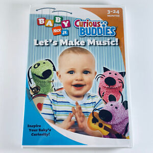 Baby Nick Jr: Curious Buddies Lets Make Music (DVD 2005) 3-24 Months Nickelodeon