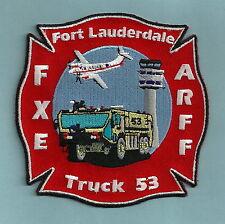 FORT LAUDERDALE INTERNATIONAL AIRPORT FLORIDA FIRE DEPARTMENT ARFF PATCH