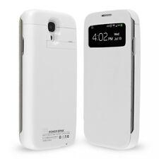 Custodia Batteria Maggiorata 4000mAh Per Samsung Galaxy S4 VE i9515 Flip Cover