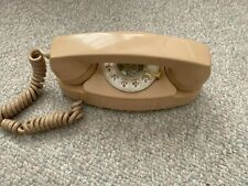 Western Electric Telephone 701B Princess Rotary Phone Beige 4-60 Bell System