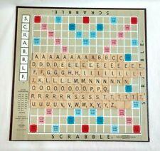 Vintage Scrabble Crossword Game Selchow & Righter Complete Original Box 1953