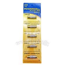 5 pcs 27A 12V MN27 V27GA L828 A27 B-1 Alkaline Battery For Toy Remote Alarm