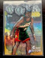 1997-98 Topps Rock Stars Refractor Gary Payton #RS9 HOF