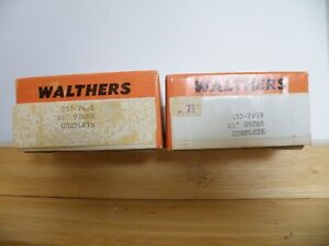 HO Scale Walthers 933-7812 & 7899 The Piker Wood & Metal SET Vintage