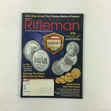 March 2017 American Rifleman Magazine Precious Metals of Freedom Gold Silver
