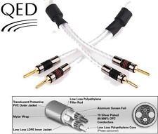 QED Genesis Speaker Cable Airloc Terminated Pair - 3M