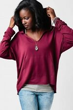 Earthbound Trading Co. Women's Berry Pullover Hoodie with Pocket XL