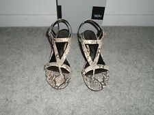 Mossimo Faux Snake Skin Wedge Shoes Size 10
