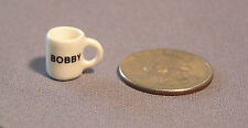 Dollhouse Miniature Mug, Personalized name up to ten letters, by Tim Van Schmidt