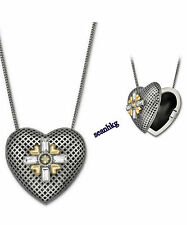5027505 R&J Long Heart Pendant, Romeo & Juliet movie Love Crystal Swarovski MIB