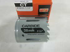 """BAHCO TOOLS HOLESAW 1-1/2"""" HOLE SAW CARBIDE TIPPED 3832-38 38MM ~NEW"""
