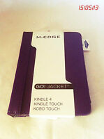 M-EDGE GO! Jacket For Kindle 4, Kindle Touch, Kobo Touch - Purple - New