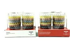 Missoni For Target Tumblers 20th Anniversary Collection 14oz 8 Cups