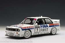 1992 BMW M3 E30 DTM CECOTTO #7 RACING CAR FINA 89246 by AUTOart 1:18 NEW IN BOX