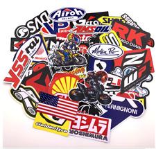 20 X Motorbike Moto GP Decal Bike Stickers