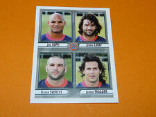 N°423 AS BEZIERS HERAULT PANINI RUGBY 2007-2008 PRO D2 FRANCE