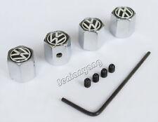 Wheel Antitheft Tire Valve Stem Rim Caps for Volkswagen VW Logo Air Dust Cover