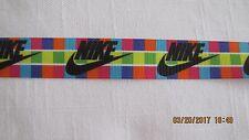 Nike - Multi Grosgrain Ribbon 7/8 Inch BTY