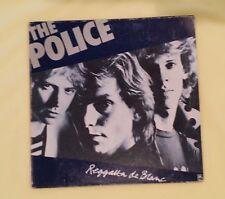 Vintage The Police 2nd Lp Album Reggatta De Blanc 2 10' discs Rare Double Record