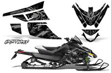 Arctic Cat Z1 Turbo Decal Graphics Kit Sled Snowmobile Wrap 06-12 NIGHTWOLF SLVR