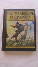 Old Book Michael Strogoff by Jules Verne Illust. by N.C. Wyeth 1927 GC