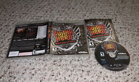 Guitar Hero: Warriors Of Rock (PlayStation 3 PS3) Complete Tested