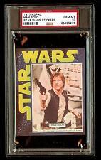 HAN SOLO 1977 Star Wars ADPAC General Mills Cereal Sticker  PSA 10 POP 1