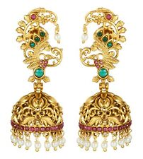 Earrings Wedding Women Jewelry Indian Bollywood Fashion Jhumka Jhumki