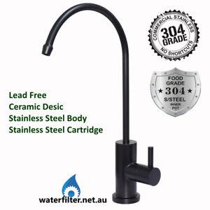 Modern Designer Stainless Steel BLACK Water Filter Tap, Filter Tap Matt Black