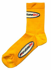 MERCATONE UNO RETRO CYCLING TEAM SOCKS - Vintage - Fixed Gear - Made in Italy