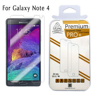 EXPLOSION PROOF TEMPERED GLASS SCREEN PROTECTOR FILM FOR SAMSUNG GALAXY Note 4 3