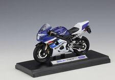 1:18 Welly SUZUKI GSX R750 Motorcycle Bike Model New In Box