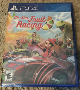 All-Star Fruit Racing - PlayStation 4 PS4 Brand New & Factory Sealed Fast Ship!
