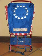 Vintage Sportsmaster Old Glory RSS-99 Stars & Stripes Hiking Backpack