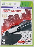 Need For Speed: Most Wanted (2012) - Complete w/ Manual - Microsoft Xbox 360