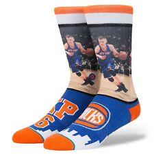 STANCE SOCKS NEW Men's NBA Porzingis Blue BNWT