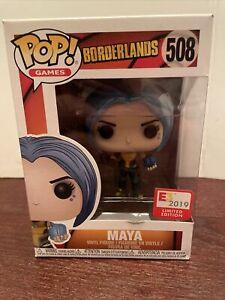 Funko Pop! Vinyl Figure - Games #508 - Maya - Borderlands 1 2 3 Siren