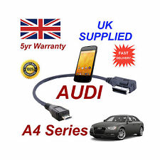 AUDI A4 Series 4F0051510M Cable For LG Google Nexus 4 MICRO USB Audio connection