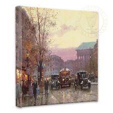 Thomas Kinkade Paris Twilight 14 x 14 Gallery Wrapped Canvas