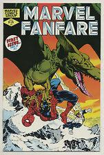 Marvel Fanfare 1 1982 Spider-Man Angel Daredevil Claremont Golden Paul Smith c