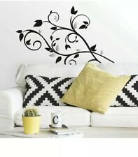 ROOM MATES BLACK & SILVER TREE BRANCH WALL DECALS DECOR NEW